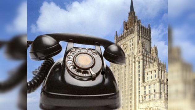 Lavrov y Clinton intercambian impresiones sobre la situación en Kirguistán