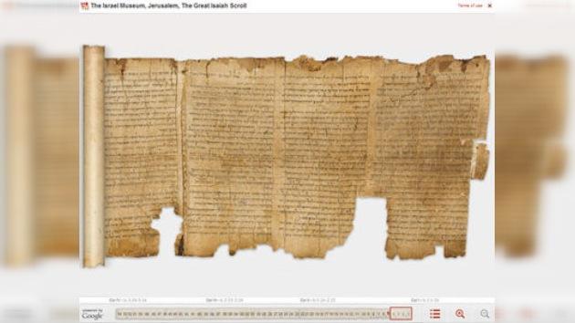 Manuscritos del Mar Muerto, del pergamino a Internet