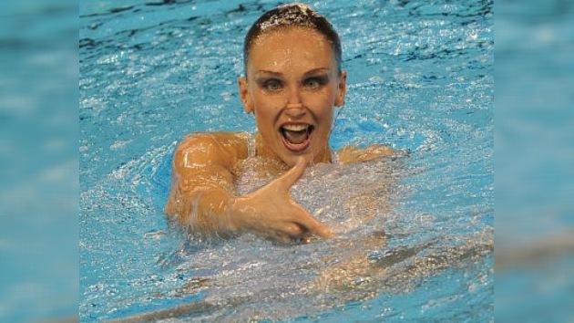 Natalia Íschenko gana el oro en el 'solo' de natación sincronizada en Shanghái