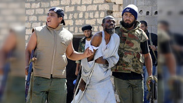 Video: Rebeldes libios torturan a inmigrantes subsaharianos