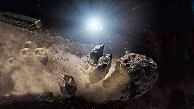 Unos 4.700 asteroides amenazan la Tierra
