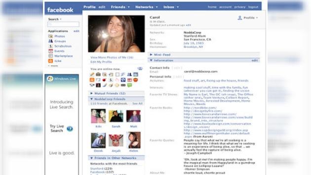 La red social Facebook denunciada por violar la privacidad de los usuarios