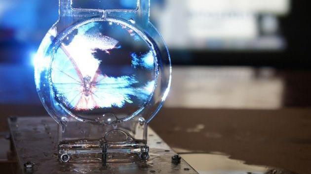 VIDEO: Los científicos logran crear una pantalla en 3D a partir de burbujas de jabón