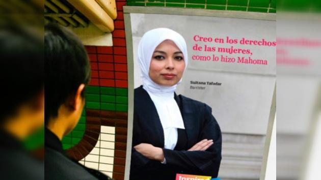 """""""Inspirados por Mahoma"""": campaña contra prejuicios hacia Islam en Londres"""