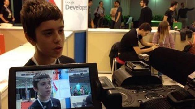 Un niño de 12 años diseñará una red social y juegos para Google