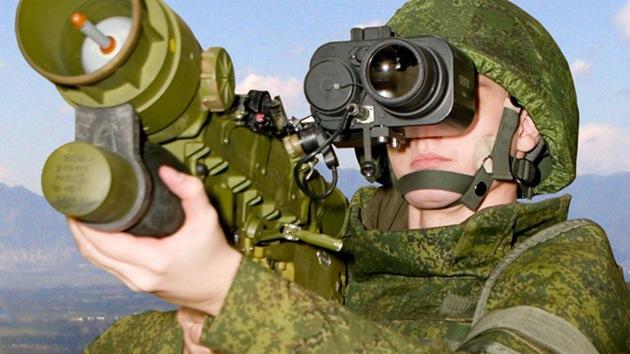 El Ejército ruso incorpora misiles portátiles superiores a sus análogos en EE.UU. y China