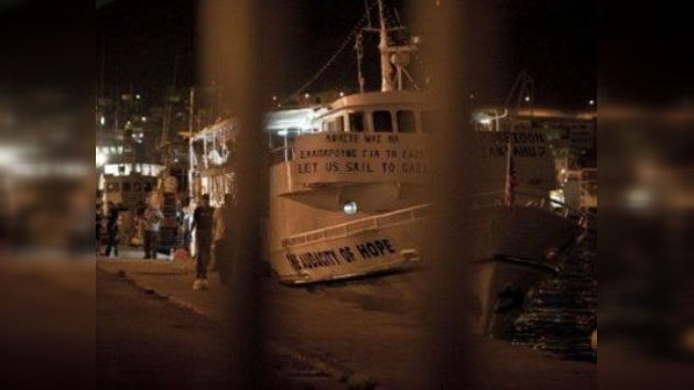 Grecia prohíbe la salida de los barcos de la segunda Flotilla de la Libertad a Gaza