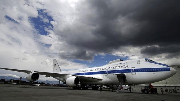Fotos: E-4B, la oficina voladora del presidente de EE.UU. en caso de 'apocalipsis'