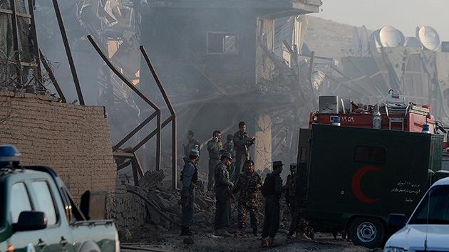 Ataque cerca de un recinto militar de la OTAN en Kabul