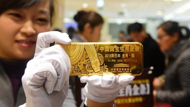 China es el primer productor de oro mundial por sexto año consecutivo