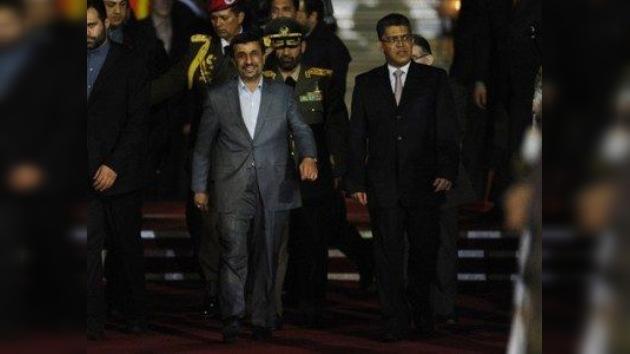 La llegada del presidente de Irán a Venezuela pone en guardia a EE. UU.