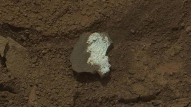 La misión Curiosity revela que el Planeta Rojo es blanco por dentro