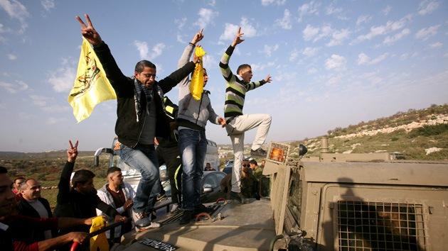 Estalla la violencia: Palestinos acampan en solidaridad con sus presos en Israel