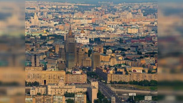 Moscú será una de las 10 urbes más grandes del mundo en 2012