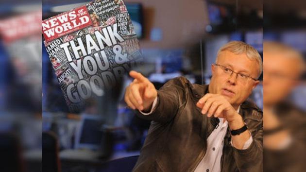 Un millonario ruso quiere comprar News of the World para cambiarle la cara y la cabecera
