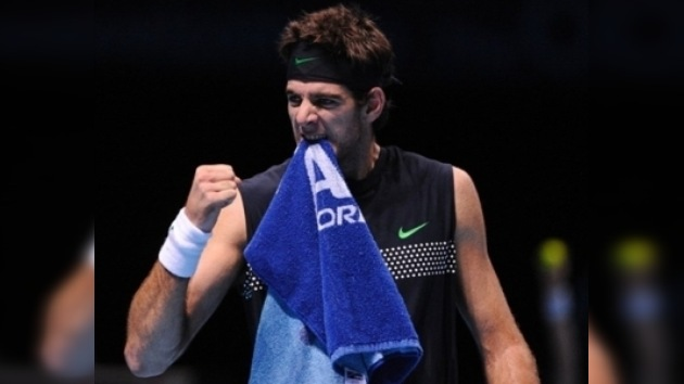 Federer y Del Potro avanzan a las semifinales del Masters de Londres