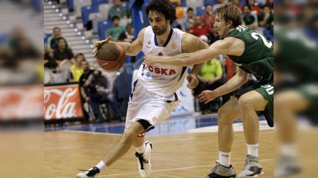 Un imparable CSKA cierra invicto la primera fase de la Euroliga