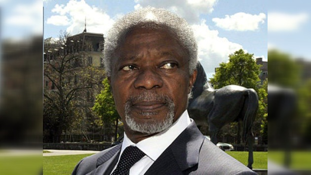 Kofi Annan: el plan de paz en Siria es la última posibilidad de evitar guerra civil