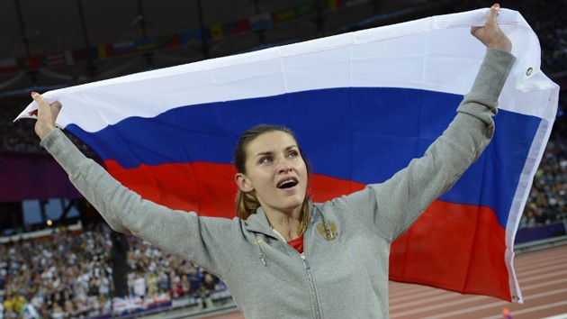 Londres 2012: dos atletas rusas, oro y bronce en salto de altura