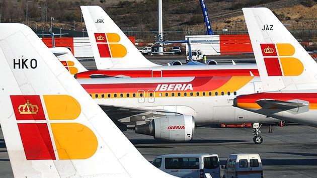 Iberia anuncia el despido de 4.500 empleados