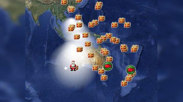 ¡Sigue el recorrido de Santa Claus en tiempo real!