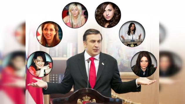 Las protegidas de Saakashvili