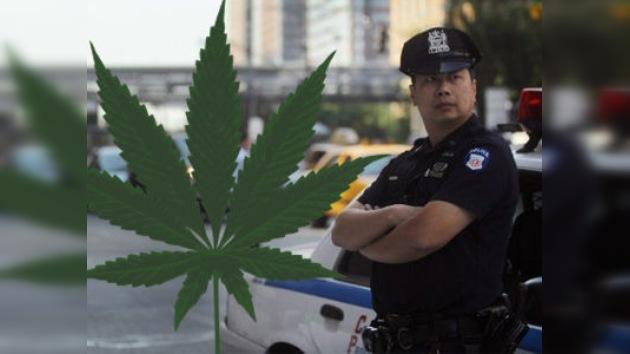 La Policía de Nueva York frena las detenciones por posesión de marihuana