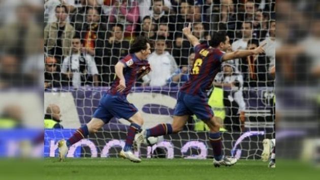 El Barcelona recupera en el Bernabéu el liderato en solitario