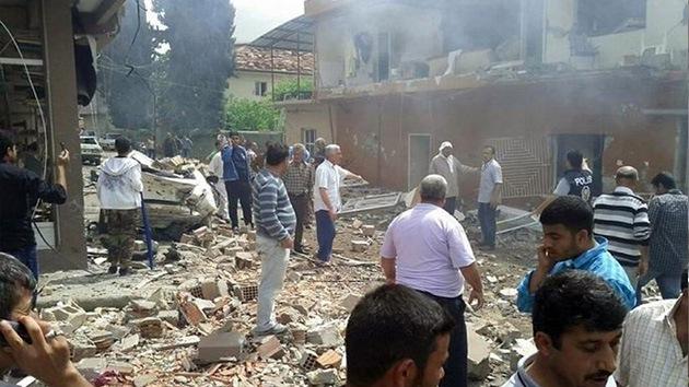 Una explosión en la frontera turco-siria se cobra al menos seis vidas humanas