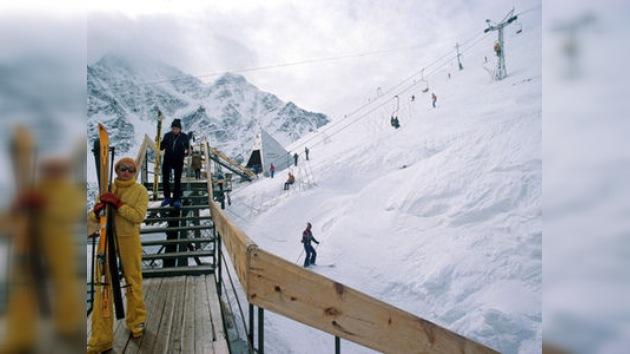 Cierran las pistas de esquí alpino en el Cáucaso tras sufrir varios ataques