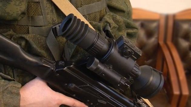 Video: El soldado ruso del futuro dispondrá de una mira infrarroja que 've' a través del humo