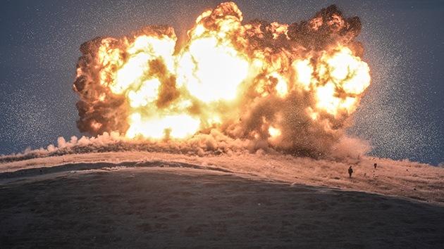 Fotos: Ataques aéreos de EE.UU. arrasan una colina dominada por el Estado Islámico