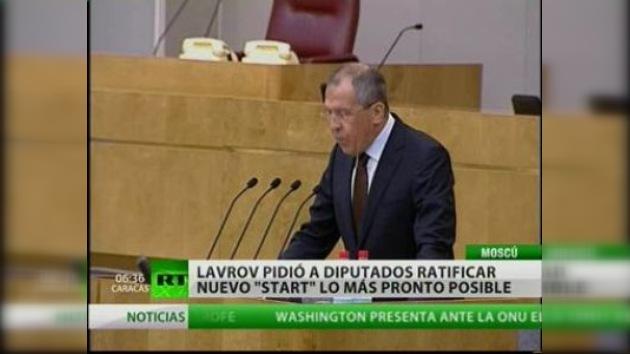 Lavrov convence de ratificar START