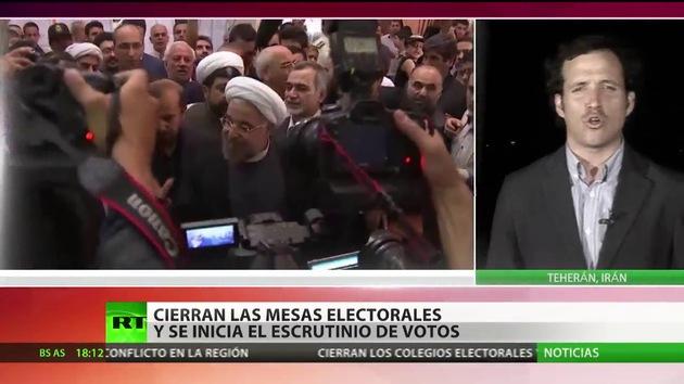 Cierran las mesas electorales en Irán y se inicia el escrutinio de los votos