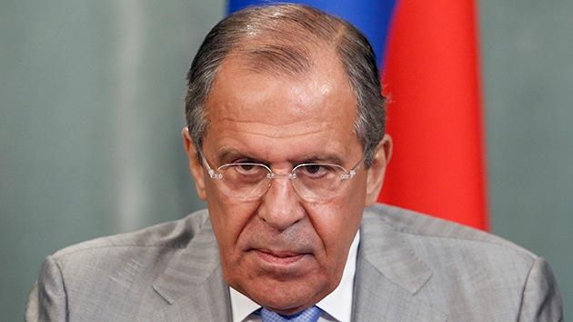 """Lavrov: """"EE.UU. no puede actuar siempre como fiscal, juez y ejecutor de las condenas"""""""