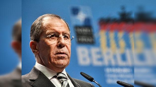 Canciller ruso recordó que la ONU no sancionó derrocamiento de Gaddafi