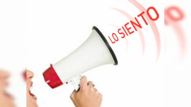 Piden perdón por sus pecados: las disculpas más sonadas del 2011