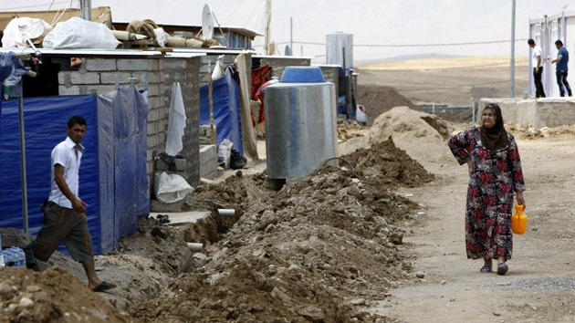 Irak abre todas las fronteras a los refugiados sirios