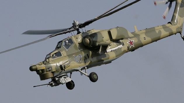 El helicóptero de combate Mi-28N es adoptado oficialmente por el Ejército ruso