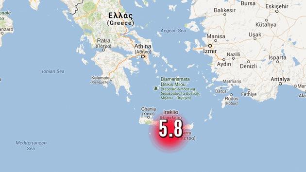 Registran el segundo gran terremoto en Grecia en menos de dos días
