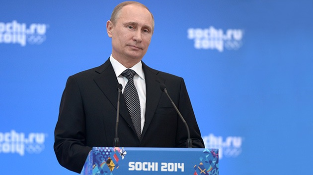 Putin: Las olimpiadas permitirán a Sochi convertirse en un balneario de todo el año