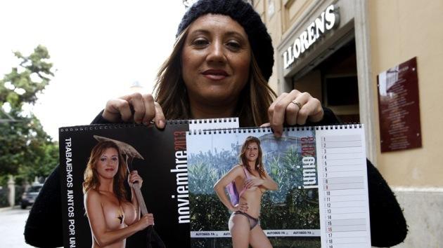 Madres españolas se desnudan para pagar un autobús escolar