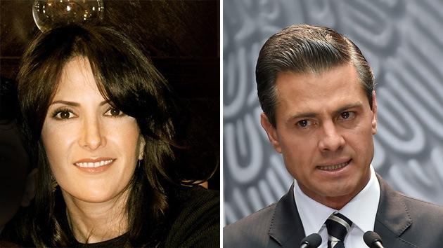 La supuesta examante de Peña Nieto habla sobre su 'casa blanca' y vínculos criminales