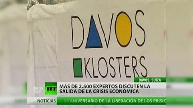 Davos, en desacuerdo por las reformas propuestas por Obama