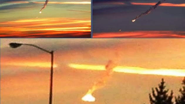 Video: Resuelven el misterio de una 'bola de fuego' en el cielo de Oregón, EE.UU.