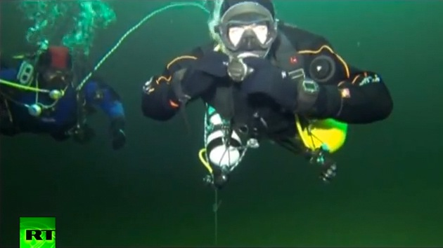 Video: Viaje único al fondo del 'Lago Ness ruso'