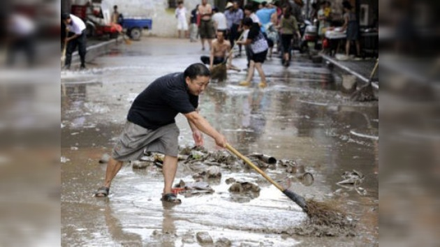Las fuertes inundaciones que sufre China han dejado cientos de muertos y desaparecidos