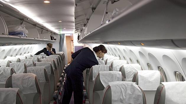 La compañía aérea Aeroflot despide a una azafata por colgar una foto inapropiada