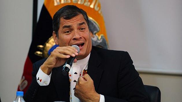 La CIA actúa contra el presidente de Ecuador Rafael Correa