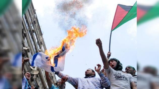 Doscientos heridos en las protestas frente la embajada de Israel en El Cairo